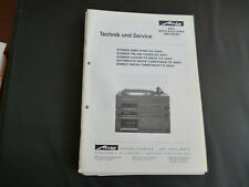 Original Service Manual Metz AX 4980 SX 4981 CX 4982 TX 4983 TX 4984