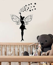 Vinyl Wall Decal Fairy Tale Magic Girl Room Stickers Mural (ig3709)