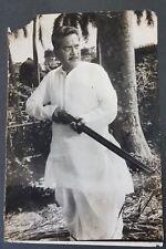 Vtg B&W Camera photo Bollywood  actor Dr. Shreeram Lagoo Portrait image C 1980