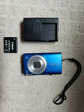 Canon PowerShot A4000 IS 16.0MP Digital Camera - Blue - Free Case