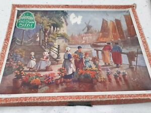 Vintage victory wooden jigsaw . Complete
