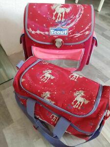 Scout Schulranzen und Sporttasche