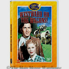 Westward Ho, The Wagons! Oregon Trail Cowboys and Indians Disney Western on DVD