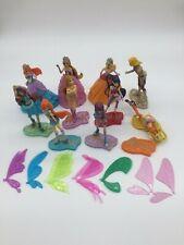 Winx Club dolls Set 10 mini 3D Figurines Figures full set