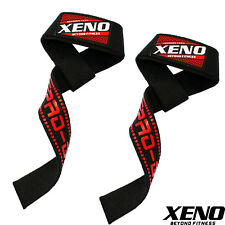 NEOPRENE PADDED WEIGHT LIFTING HAND BAR STRAPS GYM TRAINING WRIST WRAPS SUPPORT