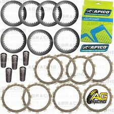 Apico Clutch Kit Steel Friction Plates & Springs For Kawasaki KXF 250 2005 MotoX