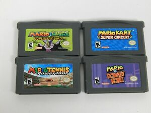 Lot of 4 Nintendo Game Boy Advance GBA Games
