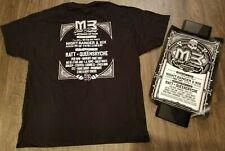 New listing M3 Rock Festival T Shirt & Poster 2012 - Ratt Queensryche Skid Row Night Ranger