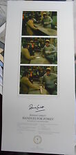 FORK HANDLES limited edition signed 23x12 - RONNIE CORBETT