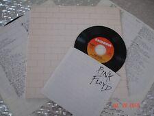 "PINK FLOYD   ""The Wall""  Gatefold  LP   Columbia Records   36183 w/Bonus Single"