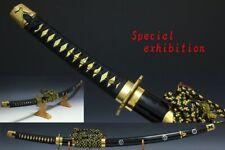 Japan Antique Edo Raden Tachi Koshirae Dragon samurai sword Katana yoroi tsuba