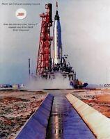 Mercury Atlas Aurora 7;MA-7 Flown Survival Lanyard Mission Frag. Scott Carpenter