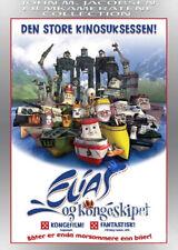 Elias & the Royal Yacht NEW PAL Kids Family DVD Espen Fyksen Lise Osvoll Norway