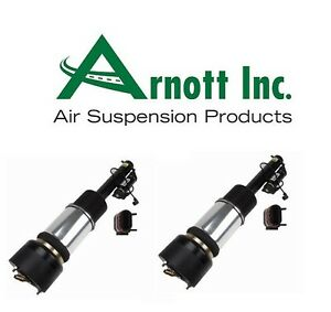 For Mercedes W220 S500 S600 Set of 2 Front Strut Assemblies Arnott Industries