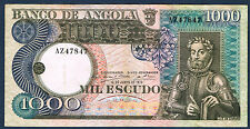 ANGOLA - 1000 KWANZAS Pick n° 108 du 10 juin 1973 en TTB  G/B 47847