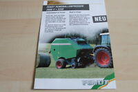 139695) Fendt Rundballenpresse 2600 V 3250 Prospekt 200?