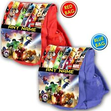 Trato Personalizado Lego Marvel Super Heroes Mochila Escolar Kids Niños Mochila Vivero