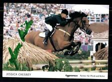 Jessica Chesny autographe carte de l'original signé à cheval + a 85301