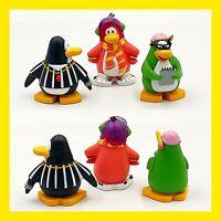 Disney Club Penguin Cake Topper Figures Lot Of 3