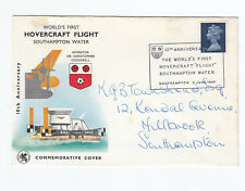 GB FDC - WORLDS FIRST HOVERCRAFT FLIGHT 10TH ANNIVERSARY - 11/6/1969