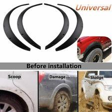 4Pcs Universal Flexible Car Fender Flares Arch Wheel Eyebrow Lips Protector US