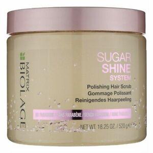 Matrix Biolage Sugar Shine System Polishing Hair Scrub no parabens 520g