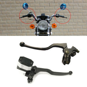 Motorcycle Front Brake Clutch Master Cylinder CNC Reservoir Hydraulic Pump Lever
