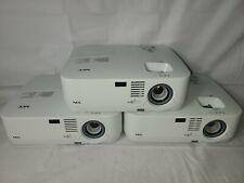 Lot of (3)- NEC NP310 2200 Lumens LCD Video Projectors