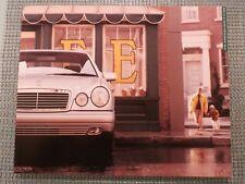 Mercedes-Benz 1998 E-Class Sedan Wagon 300 320 430 Advertising Sales Brochure