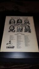 Love Song Chuck Girard Reunion Tour Rare Original Promo Poster Ad Framed!