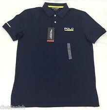 Ralph Lauren Men's Polo Sport Shirt USA Thermovent NWT Navy Blue Size Medium