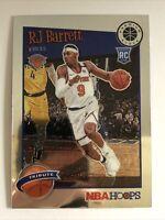 RJ Barrett Rookie RC 2019-20 NBA Hoops Premium Stock 298 Tribute New York Knicks