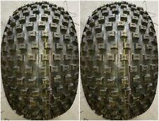 2 - (PAIR) 22x11.00-8 D-929 ATV Knobby Tires DS7321 22x11-8 22/11-8 FREE SHIP