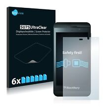 6x Savvies Screen Protector for BlackBerry Z10 Ultra Clear