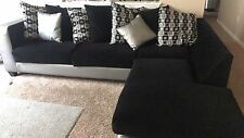 Black couch for sale