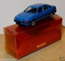 MICRO HERPA HO 1/87 VW VOLKSWAGEN PASSAT GL BLEU MOYEN IN BOX