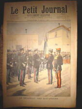 Original print French newspaper Le Petit Journal dated 1897 The Customs Officers