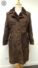 Unbranded Suede Casual Button Coats & Jackets for Women