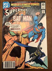 WORLD's FINEST COMICS Starring Superman and Batman #291 newstand Stalagron