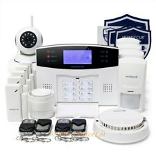 HOMSECUR Système d'Alarme Maison sans Fil GSM SMS Auto-appel+Caméra IP sans Fil
