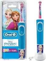 Oral-B Kids 3+ Frozen Electric Rechargeable Toothbrush With Sensitive Mode