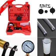 2 In 1 Hand Held Car Motorcycles Brake Bleeder & Vacuum Pump Test Tuner Tool Kit