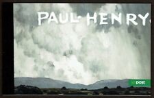 "HuskyStamps ~ Ireland #1779b Complete Booklet, ""Paul Henry"", Artist, 5 Pictures"