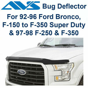 AVS Bugflector II Hood Protector Shield Fits 1992-96 Ford F150 F250 F350 - 25738