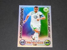 MISIMOVIC VFL WOLFSBURG TOPPS MATCH ATTAX PANINI FOOTBALL BUNDESLIGA 2009-2010