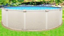 "18x52"" Round Saltwater 5000 Above Ground Salt Swimming Pool with 25 Gauge Liner"