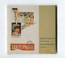 Scritti Politti SEALED (!) 3-INCH-cd-maxi THE WORD GIRL 1988 Flesh & Blood 3-tr