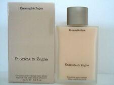 ERMENEGILDO ZEGNA Essenza di Zegna 100ml Emulsoin après-rasage sans alcool Neuf