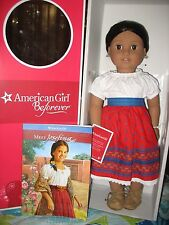 "American Girl BeForever Josefina 18"" Doll New In Box w/book"