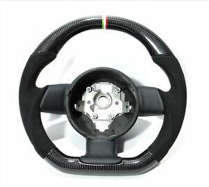 Lamborghini Gallardo Steering Wheel Carbon Black Alcantara Italian Stripes LP560